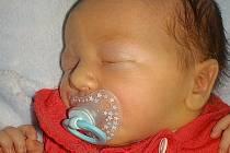 Jan Přidal, Lešany u Prostějova, narozen 26. března 2021 v Prostějově, míra 51 cm, váha 3350 g