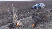 Při nehodě nedaleko Vrbátek se zranili hned dva lidé