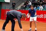 Zápas 1. kola Czech Open v Prostějově