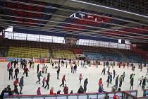 Bruslení pro veřejnost na zimním stadionu v Prostějově