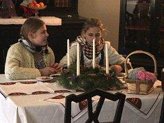 Netradiční prohlídka plná zajímavostí o Vánocích a vánočních zvycích se o víkendu odehrála na zámku Plumlov.
