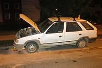 Nehoda v ulici Dr. Horáka v Prostějově