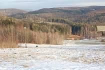 Sjezdovka v Kladkách a její okolí - 20. 12. 2011