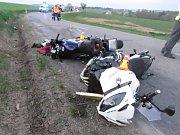 Jízda motorkářů neskončila dobře.