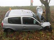 Nehoda Renaultu Clio u Tešic