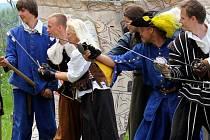 Švédové na Plumlově svedli bitvu o hrad