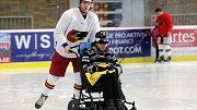 Prostějovští hokejisté potěšili děti z Tetína.