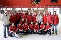 SIDA Cup na prostějovském zimním stadioně. LHK Jestřábi Prostějov