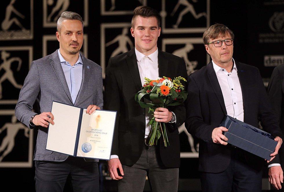 Nejlepší sportovec Olomouckého kraje 2018,  SK SIGMA Olomouc U19