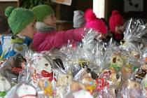 Výstava velikonočních beránků v Národním domě v Prostějově