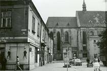 Podoba Filipcova náměstí se v minulosti značně lišila od té dnešní. Od roku 1881 se užívalo pojmenování Kostelní náměstí, současný název platí od roku 1893 podle osoby Jana Filipce (1431-1509), kancléře krále Matyáše Korvína a prostějovského rodáka.