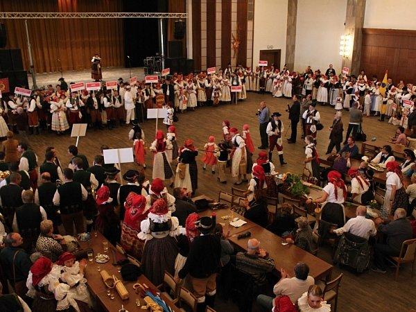 Čtvrtý ročník Setkání Hanáků na Hanáckých slavnostech vProstějově