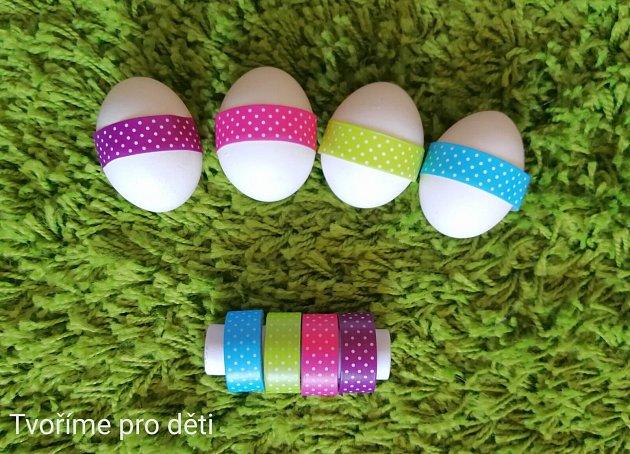 Zdobíme vajíčka bez barev