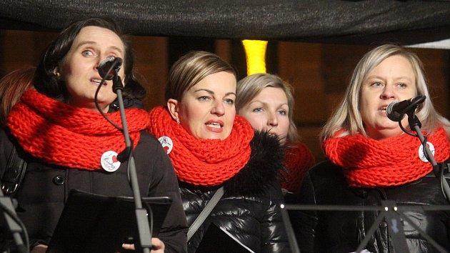Česko zpívá koledy v Prostějově 2017