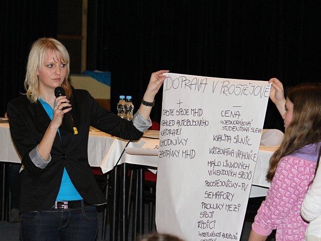 Dětské slyšení v Kulturním klubu Duha