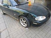 Nehoda na křižovatce ulic Komenská a Kostelní v Prostějově