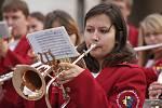 Svatováclavské slavnosti v Nezamyslicích 2010- Dechový orchestr mladých z Němčic nad Hanou
