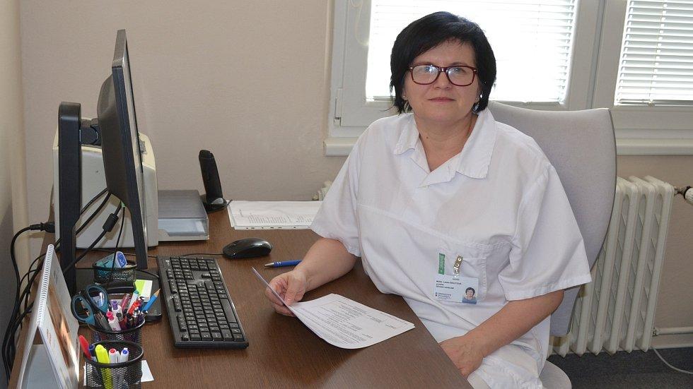 Primářka dětského oddělení prostějovské nemocnice Lenka Šigutová