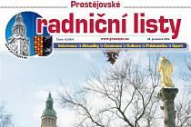 Radniční listy v Prostějově. Ilustrační foto