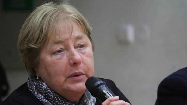 Primátorka Prostějova Alena Rašková