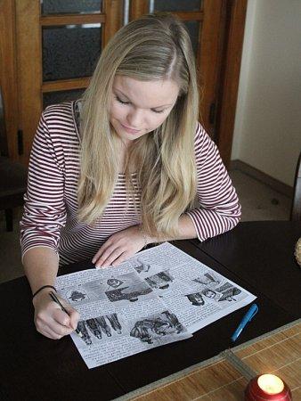 Kreslení se Alexandra Svobodová věnuje odmalička. Sjejím malířským uměním se mohou lidé seznámit na stránkách Plumlovského zpravodaje.