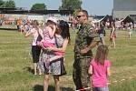 Dětský den s armádou na prostějovském letišti