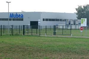 Areál firmy Mubea