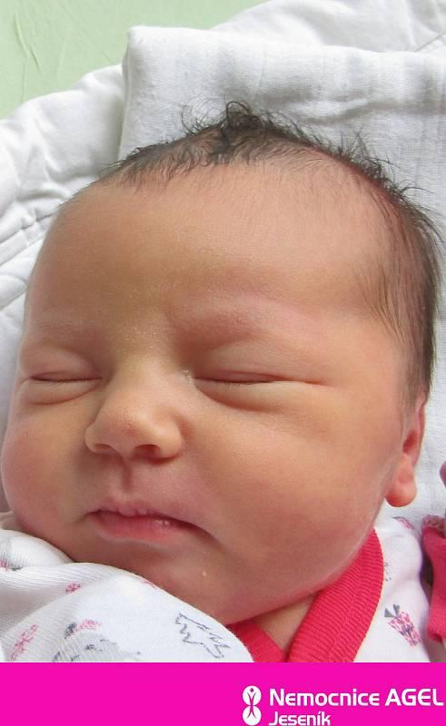 Vanesa Kozáková, Mikulovice, narozena 14. července 2021