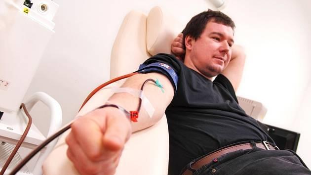 Darování krve. Ilustrační foto