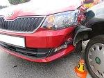 Bouračka žáka autoškoly u Plumlova