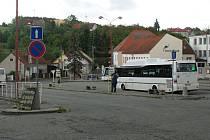 Autobusové nádraží v Konici