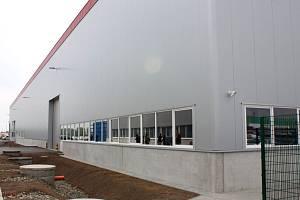 Logistické centrum v prostějovské průmyslové zóně