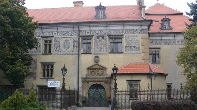 Prostějovský zámek.