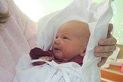 Tobiáš Peka, Prostějov, narozena 30. listopadu v Prostějově, míra 50 cm, váha 3000 g