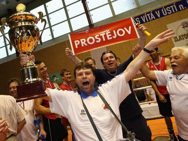 Prostějovští boxéři získali titul.