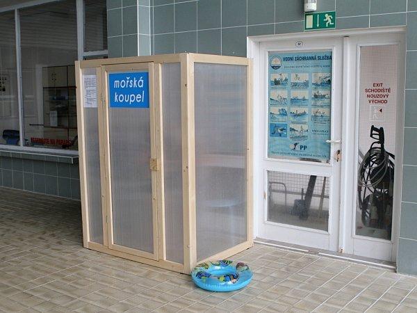 Mořská koupel vprostějovských lázních