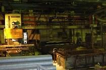 Požár v ocelárně v Zábřehu