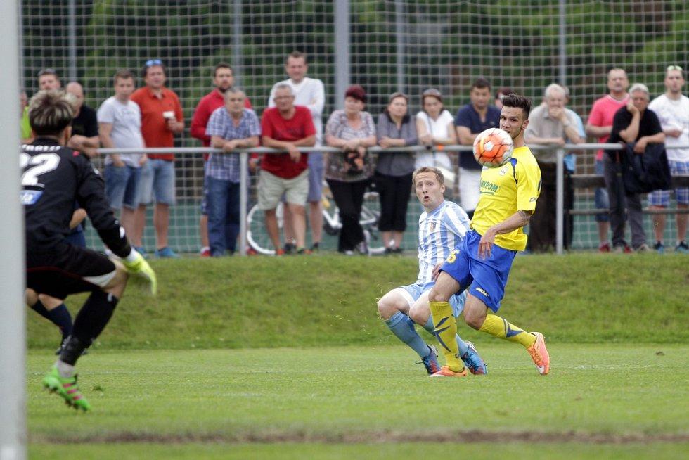 Fotbalisté Prostějova porazili rezervu Zlína 4:0 a slavili postup do 2. ligy