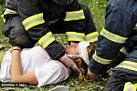 Soutěž dobrovolných hasičů Rallye Hamry