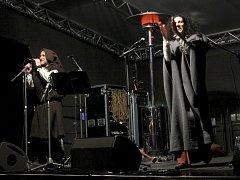 Koncert skupiny Milvus na náměstí T. G. Masaryka v Prostějově