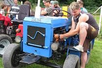 Z minulého ročníku traktorového klání v Ludmírově