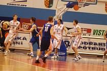 V Prostejove se ve stredu 2. dubna hralo dalsi kolo basketbalove Mattoni NBL mezi celky Prostejova a Usti nad Labem.