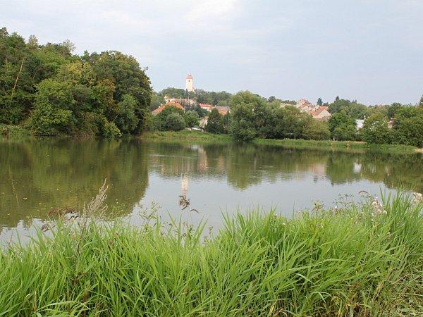 Rybník Bidelec vPlumlově