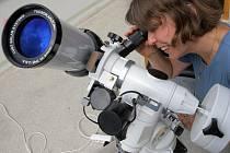 Prostějovská hvězdárna má nový sluneční dalekohled