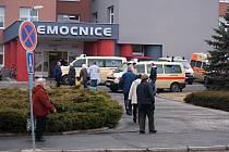 Prostějovská nemocnice. Ilustrační foto