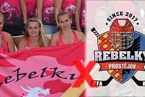 Prostějovské sportovkyně se přou o název klubu. Ilustrační koláž