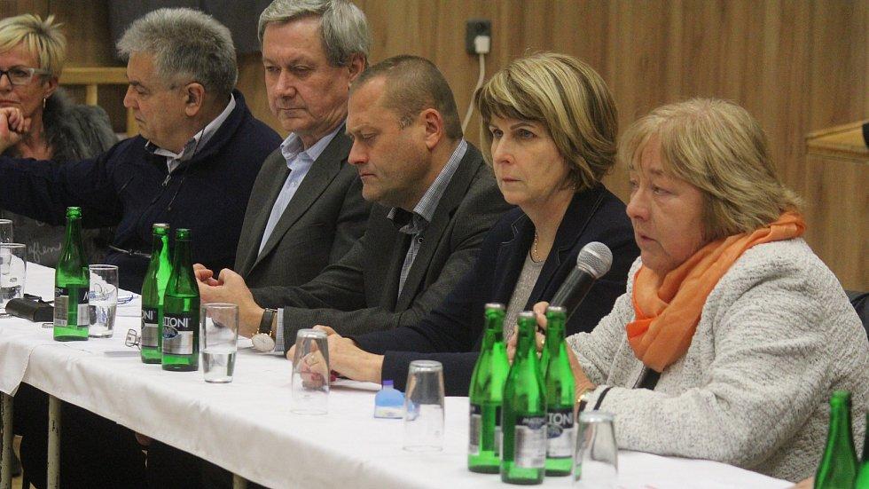 Setkání prostějovských radních s občany v Čechovicích