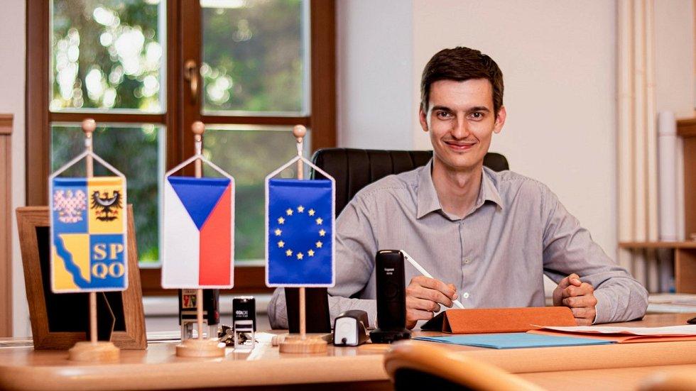 Tomáš Pavelka - starosta Mořic