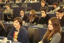 Studenti v Evropském parlamentu