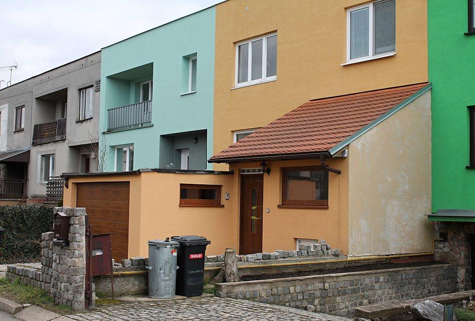 Oranžový dům v bedihošťské ulici Ludvíka Svobody byl téměř místem činu brutální vraždy.
